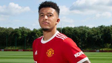 Sancho 'honoured' to join Man Utd