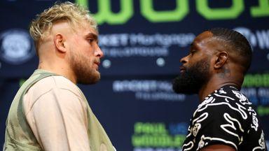 Paul, Woodley make bizarre bet ahead of fight