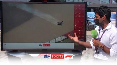 SkyPad: Verstappen-Hamilton collision analysed