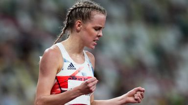 Hodgkinson into 800m final after stunning finish