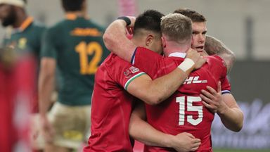Johnson: Pressure is on South Africa