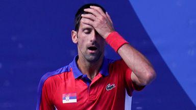 Djokovic tantrums in bronze medal match defeat