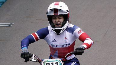 Shriever storms to BMX gold for GB