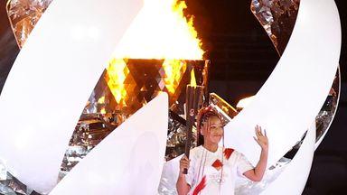'Tears when Olympic cauldron was finally lit'