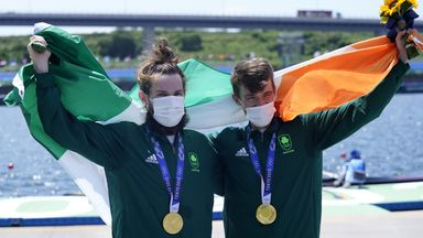Ireland claim first ever rowing gold