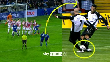 When free-kick routines go wrong!