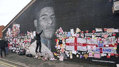 'Community showing Rashford they have his back'