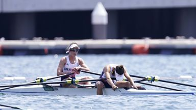 GB miss out on a medal by 0.01 seconds!