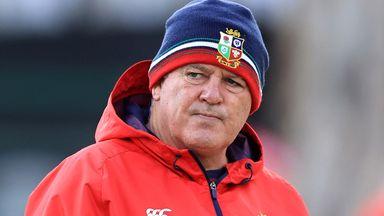 Gatland: Second Test line-up caused 'robust debate'