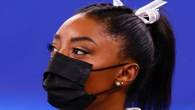 Biles withdraws from two more Olympic events