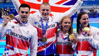 GB smash world record to claim fourth swimming gold