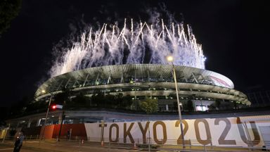 'Sombre tone at Tokyo opening ceremony'