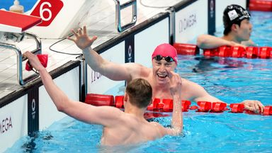 GB's Dean and Scott take swimming one-two