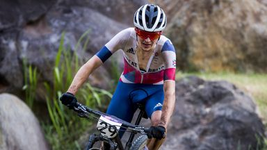 Pidcock takes gold in mountain bike cross-country