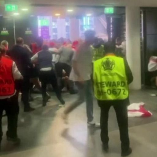 Where ticketless fans breached Wembley Stadium security before England v Italy match