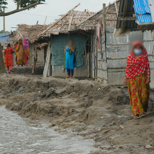 Bangladesh - where rising sea levels are forcing women into sex work