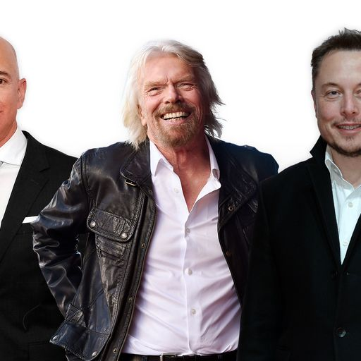 The private space race explained as Richard Branson prepares for Sunday's launch