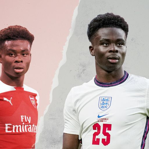 Bukayo Saka - who is the A* student who has been dazzling England fans?