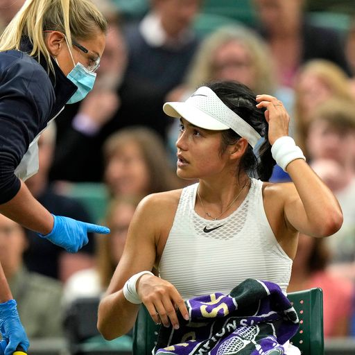 Raducanu says pulling out of Wimbledon was 'hardest thing in the world'