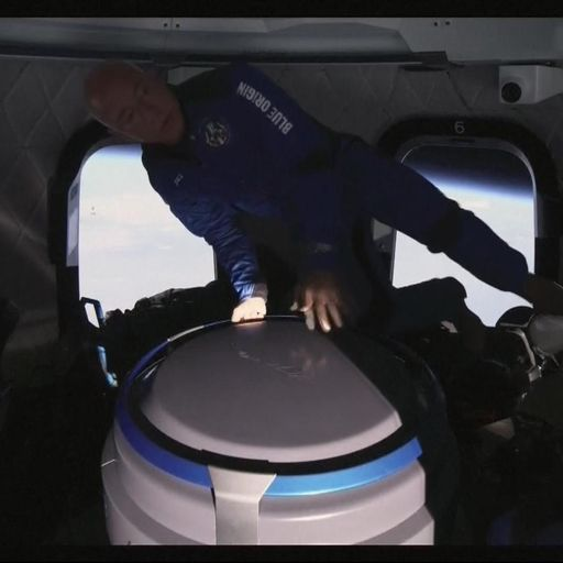 Backlash after Bezos thanks Amazon customers and staff for paying for his spaceflight