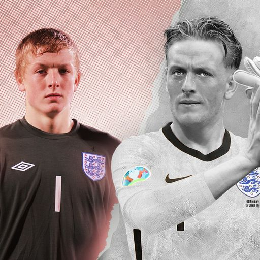 Jordan Pickford: From a career low that led to death threats to starring for England at Euro 2020