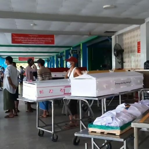 People in Myanmar forced to 'keep corpses in their homes for days' amid worsening third wave