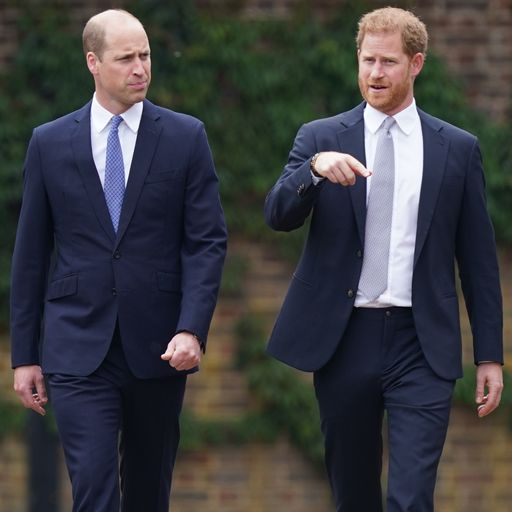 After a very public rift, seeing William and Harry together again felt like a return to the old days