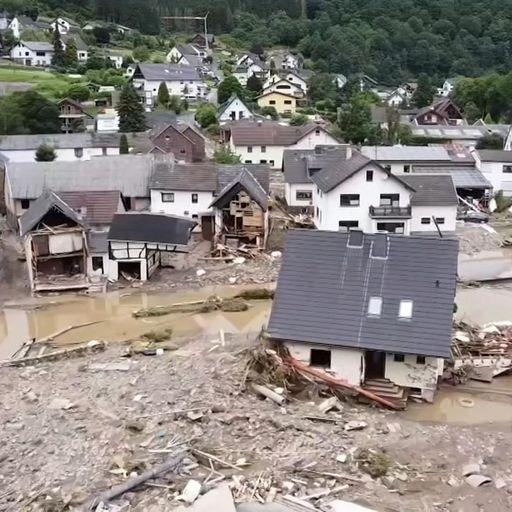 'Many houses don't exist' - The families whose lives have been destroyed by floods