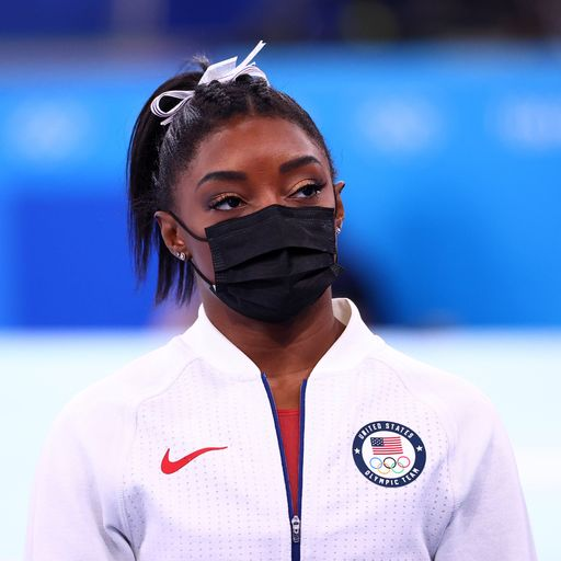 Simone Biles: Gymnast says mental health issues behind withdrawal from team final in Tokyo Olympics