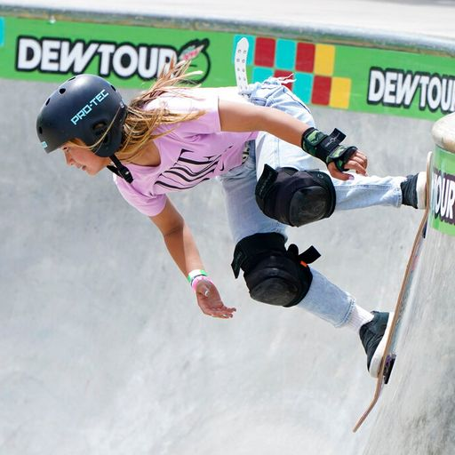 Olympic skateboarder Sky Brown has the world at her feet - aged just 13