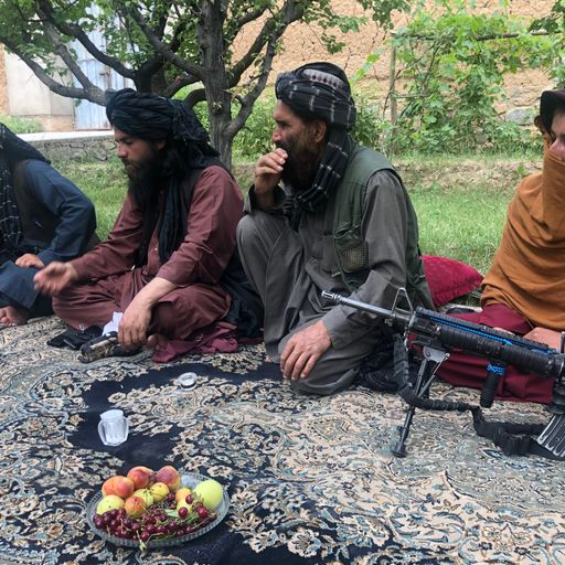 The Taliban is making gains in Afghanistan as the West withdraws