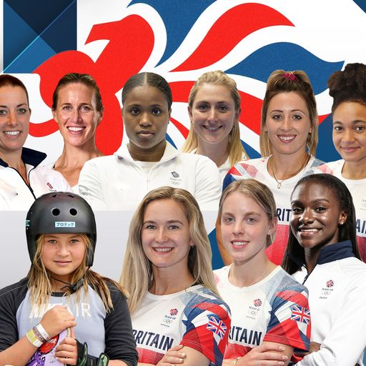 Team GB's women to watch as they outnumber men for first time