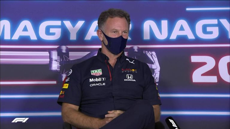 Christian Horner says he was surprised by Mercedes' reaction to Red Bull's appeal against Lewis Hamilton's penalty and insists it was not 'personal'.