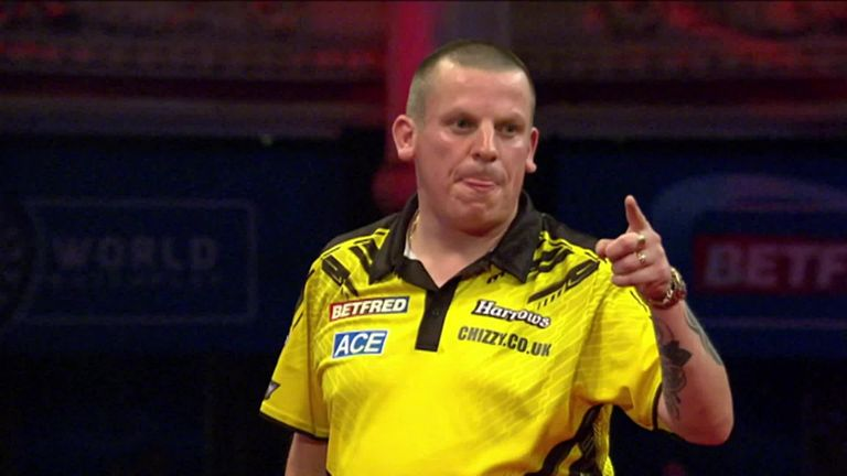 Chizzy broke the Van den Bergh throw with this brilliant 127