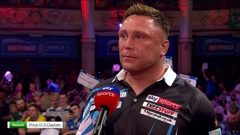 Price said he deserves respect after the Blackpool crowd booed him during and after his impressive win