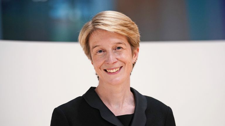 Amanda Pritchard during a visit to University College Hospital London, following the announcement of her appointment as the new chief executive of the NHS in England. Picture date: Wednesday July 28, 2021.