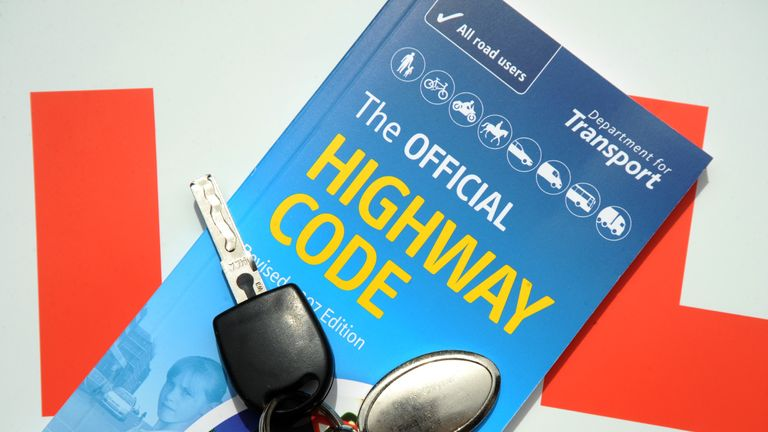 The official highway code book.
