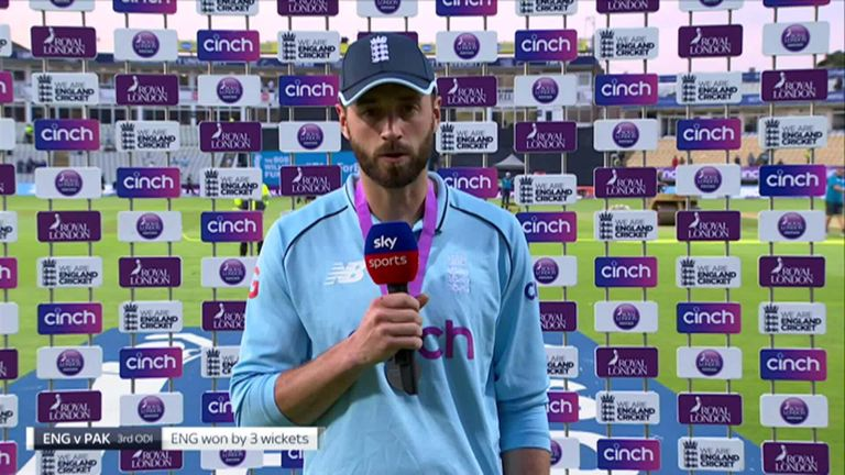 James Vince says he enjoyed every minute of his maiden ODI century.