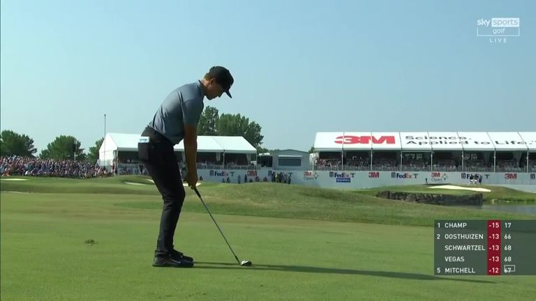 Una mirada retrospectiva a los aspectos más destacados de la ronda final de Cameron Champ en el 3M Open, donde un 66 sin fantasmas fue suficiente para registrar un tercer título del PGA Tour.
