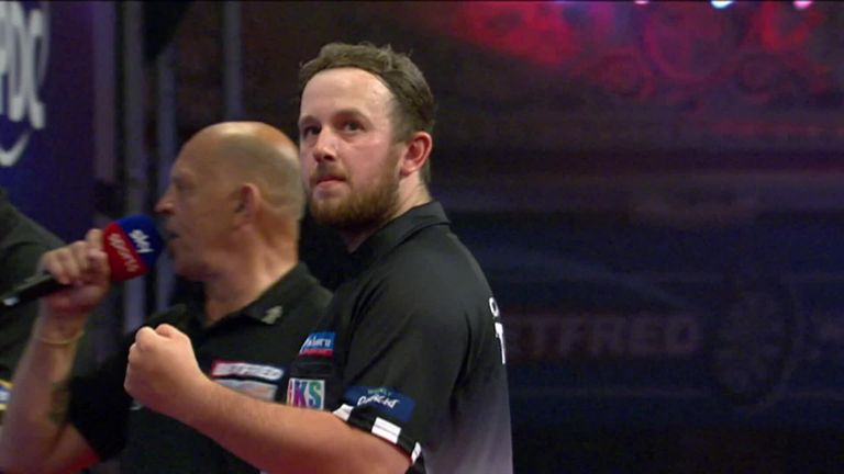 World Matchplay 2021: Callan Rydz is in the last eight for his Blackpool debut |  Darts News