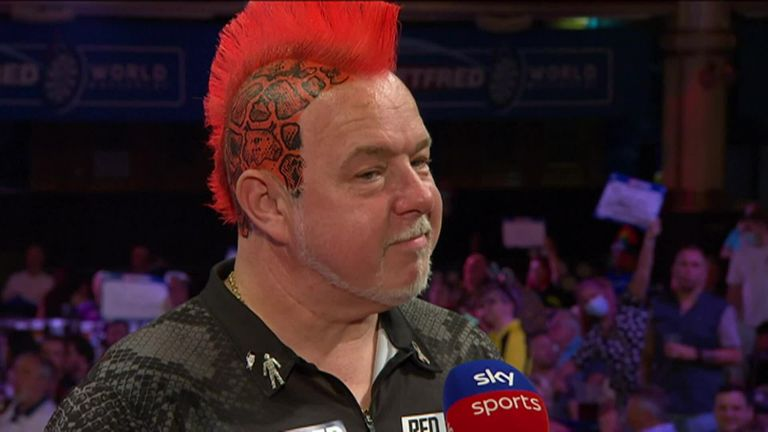 Peter Wright insisted his performance was 'absolutely rubbish', despite registering a 10-2 victory over Danny Noppert