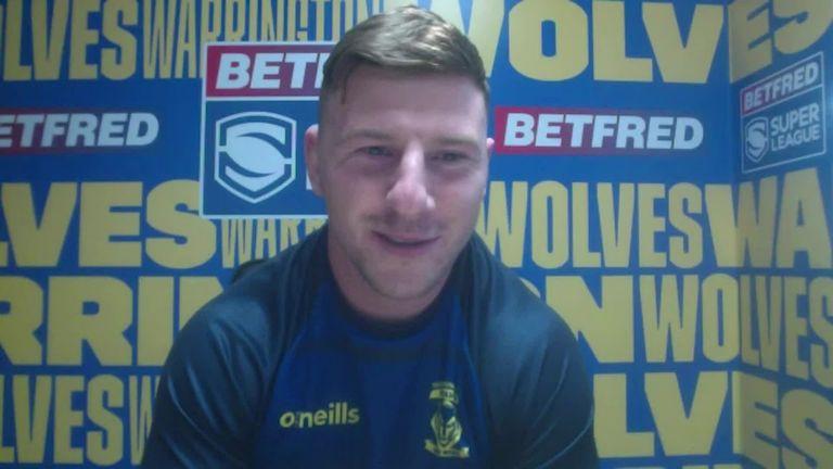 Новый контракт с Warrington Wolves Джордж Уильямс разговаривает с репортером Sky Sports Дженной Брукс и намечает свои цели