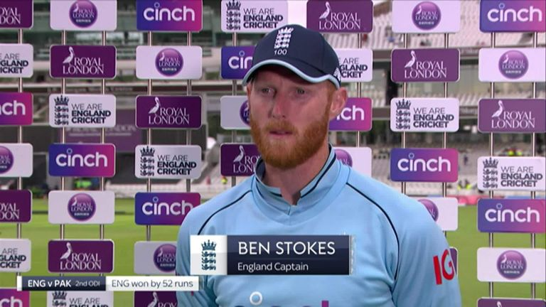 Ben Stokes praised the debutants who came into the team at short notice to help England complete a 52-run victory over Pakistan which sealed the series