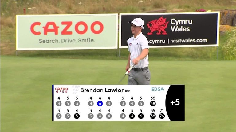 EDGA European Tour: Brendan Lawlor wins convincing EDGA Cazoo Open victory at Celtic Manor |  Golf news