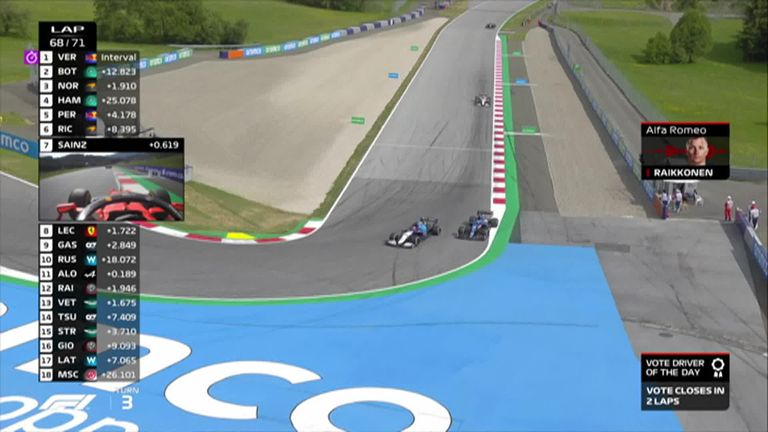 George Russell misses his first points for Williams while Fernando Alonso overtakes him