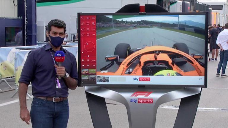 スカイF1のカルンチャンドックはオーストリアグランプリからの大きなクラッシュのいくつかを分析します