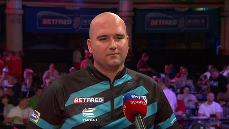 Rob Cross was delighted to be back at the Winter Gardens after he beat Ross Smith in the first round at the World Matchplay