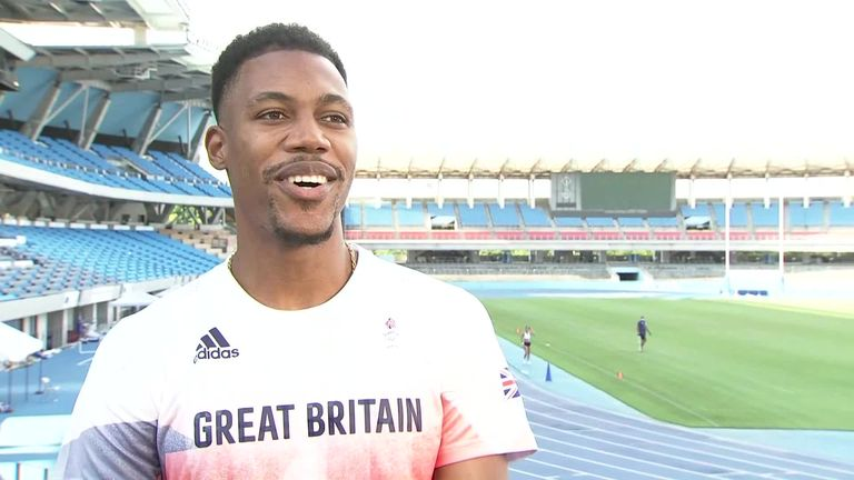 Zharnel Hughes: Team GB sprinter says Tokyo 2020 Olympic 100m race to be 'wide open' |  Olympic Games News