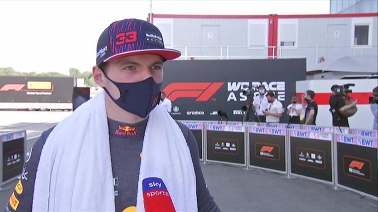 Max Verstappen de Red Bull a déclaré qu'il ne savait pas trop pourquoi ils manquaient de rythme par rapport à Mercedes après avoir terminé P3 en qualifications pour le Grand Prix de Hongrie.