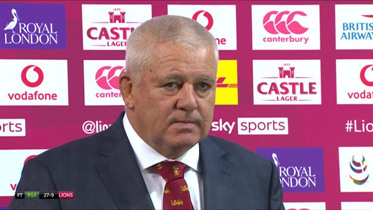 Warren Gatland felt South Africa played with a lot of emotion as they beat the Lions 27-9 in the second Test, setting up a series-deciding third Test which Gatland is excited about